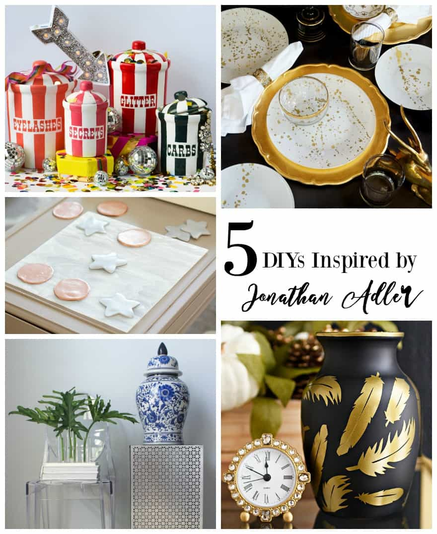 Jonathan Adler inspired DIY tutorials that'll save you HUNDREDS of dollars!