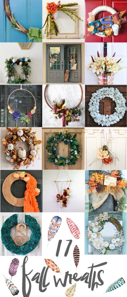 Fall Wreath Blog Hop