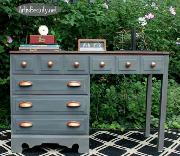 fab-flippin-contest-diy-furniture-makeover-boho-chic-copper-and-gray-desk-painted-classy-fixer-upper