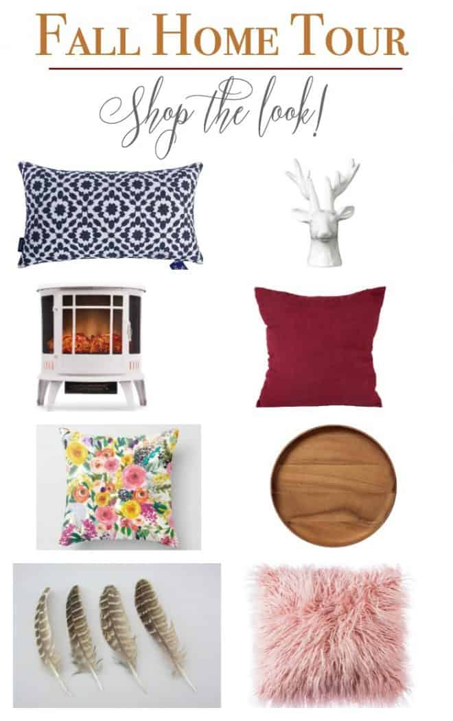 Fall Home Tour shopping guide