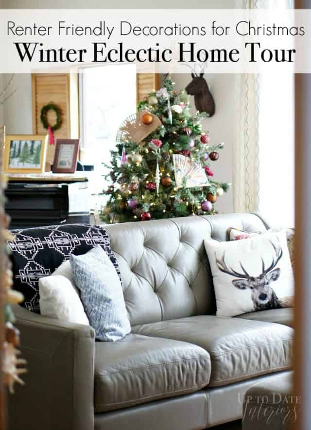 renter friendly decorations for christmas, Eclectic Style