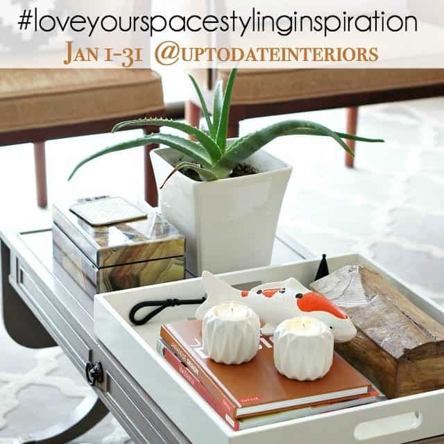 love your space challenge styling inspiration
