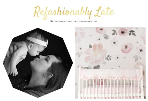 Ruthie from Refashionably Late and ORC Nursery Reveal
