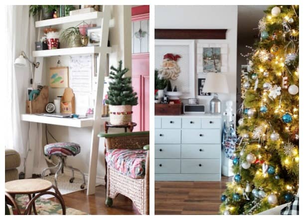 the creative circle features eclectic christmas home tours