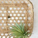 $100 Room Makeover:  DIY Wall Basket Art