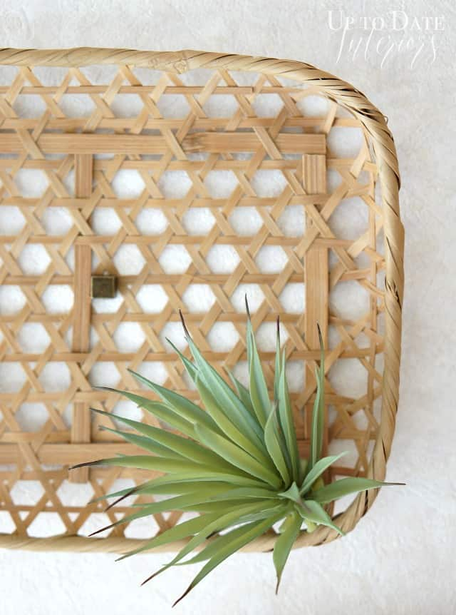 Art Basket Facebook : Room makeover diy wall basket art up to date interiors