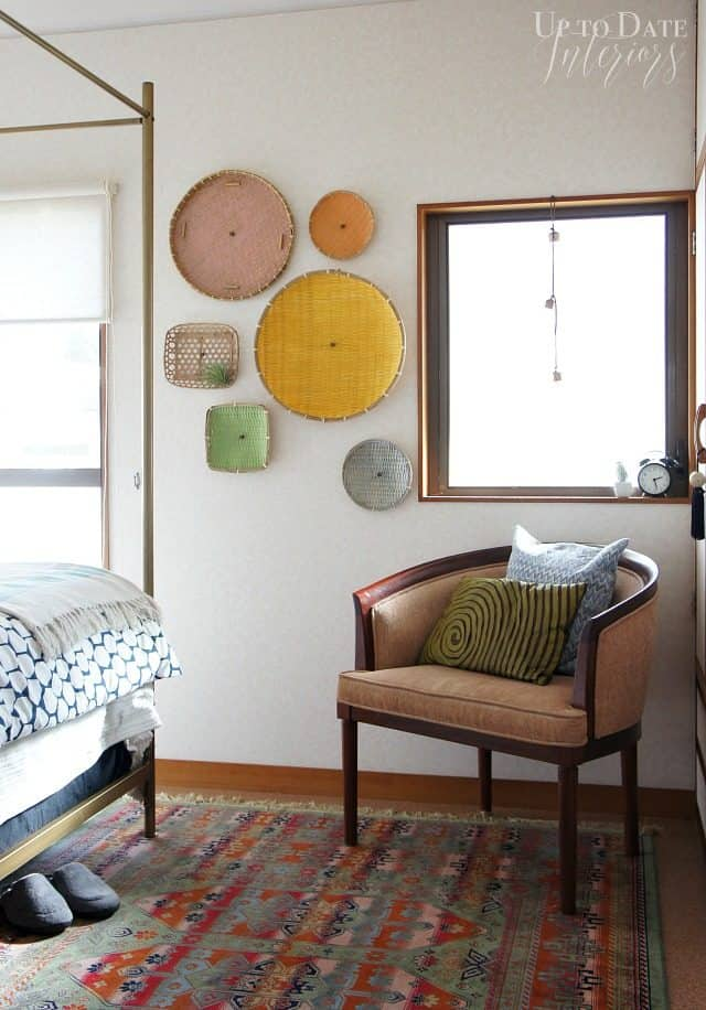 $100 room makeover with global eclectic style