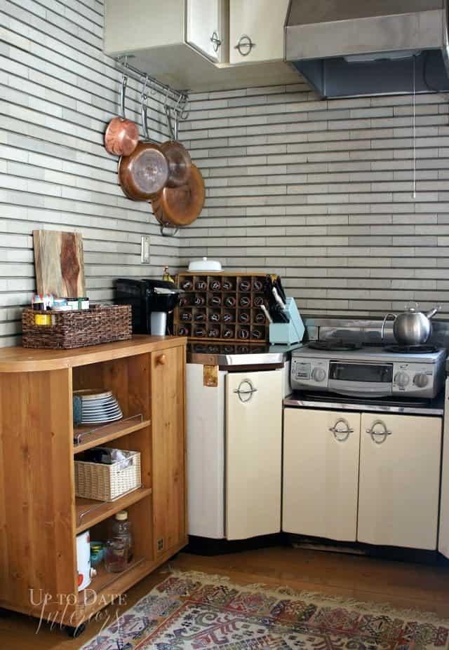 kitchen corner storage unit