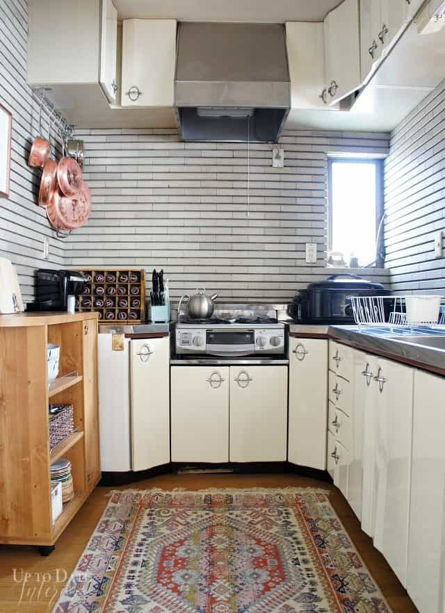 renter friendly makeover with eclectic global style
