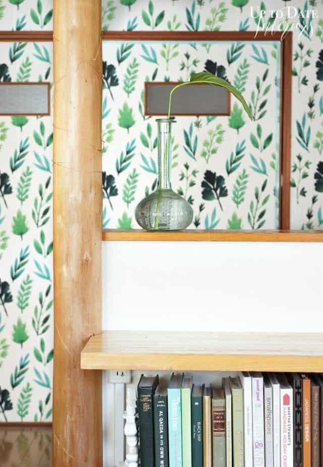 renter friendly removable wallpaper for small kitchen