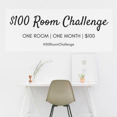$100 Room Makeover:  Rental Bathroom Update