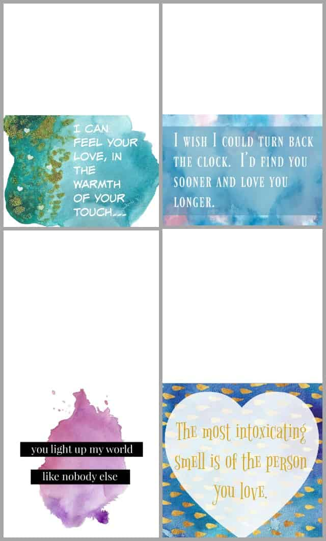 free printable Valentine's Day Gift Cards