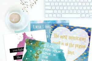 Gift Ideas for Him with Free Printable Gift Cards