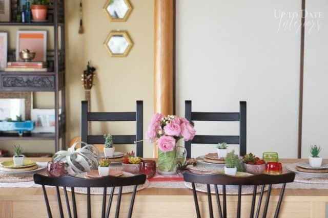 global eclectic spring table