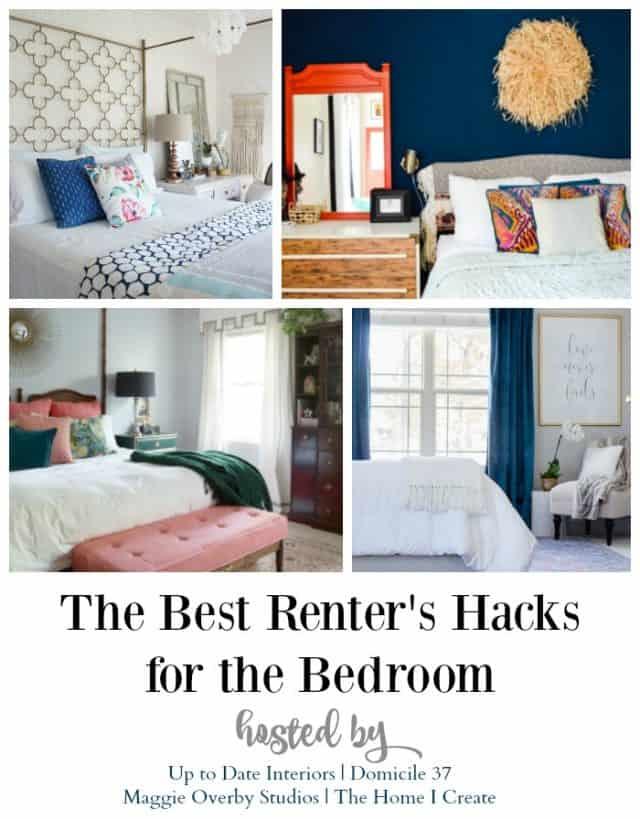 The best renters hacks for the bedroom