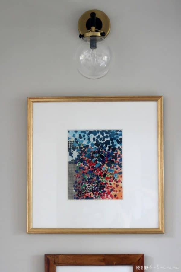 diy-framed-fabric-art-This-is-our-Bliss