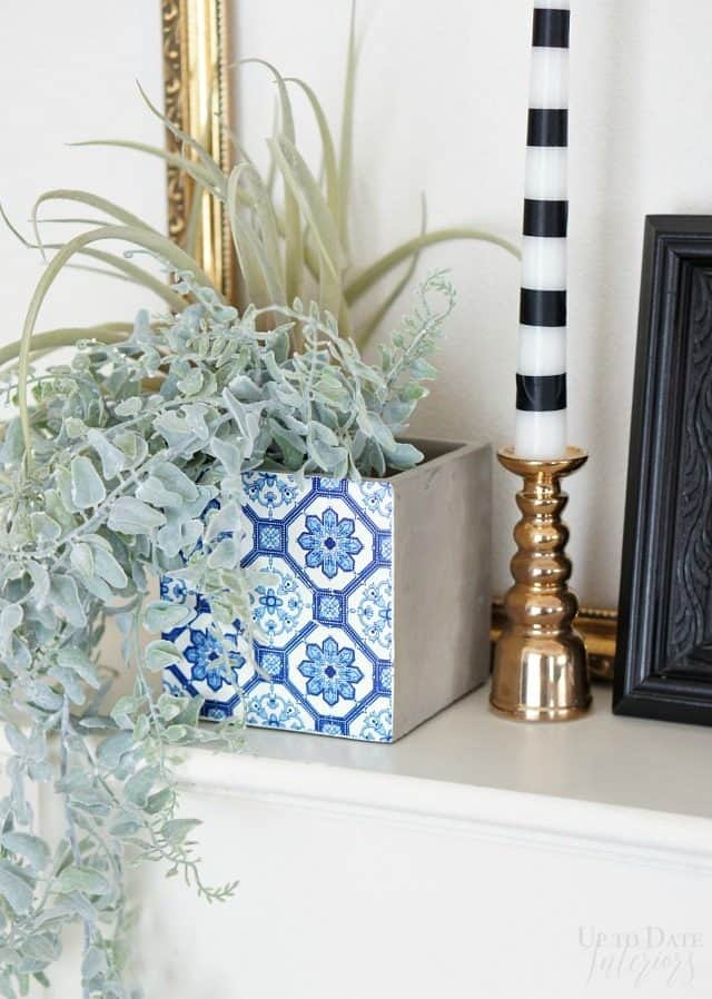 fireplace makeover inspired by Genevieve Gorder
