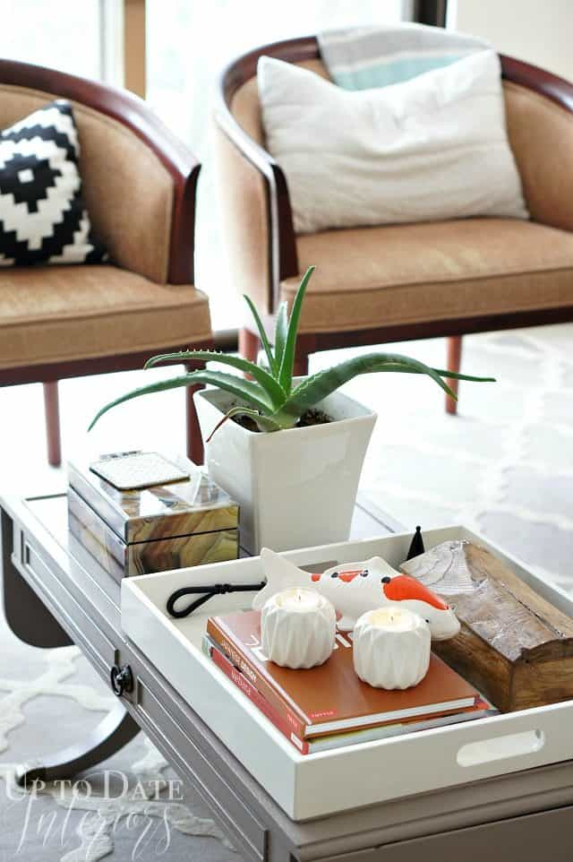 bring in candles and plants for a hygge lifestyle
