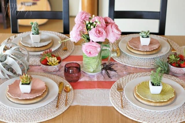 modern spring table