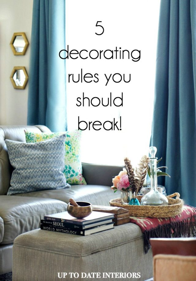 decorating rules you should break