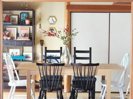 Renter decorating tips- break up sets of furniture
