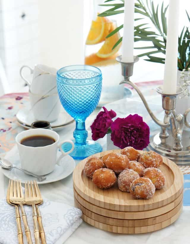 eclectic tablescape global inspired