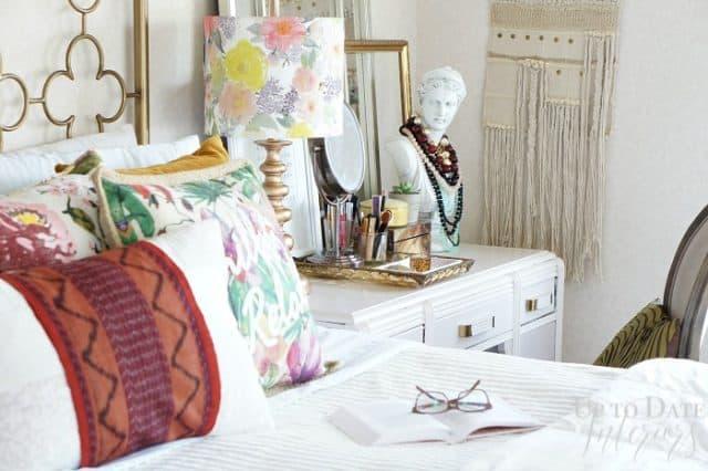 Iris Apfel inspired global decorating