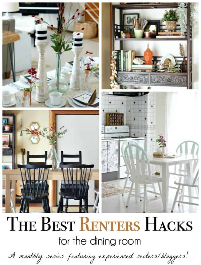 best renters hacks for the dining room