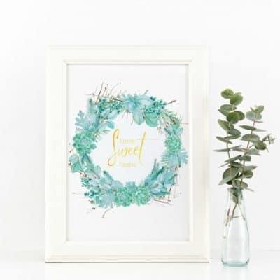 Free Succulent Printable