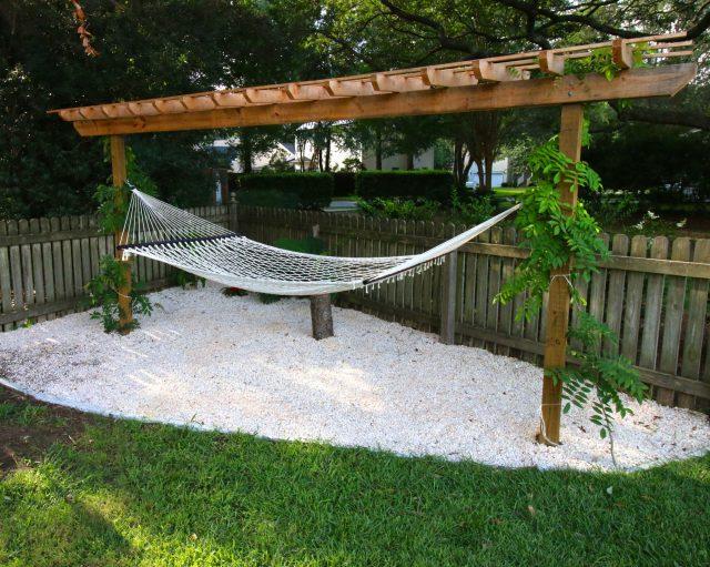 Outdoor oasis in your backyard