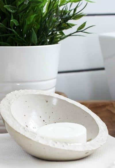 modern bathroom soap dish