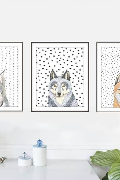 Free Animal Head Printables
