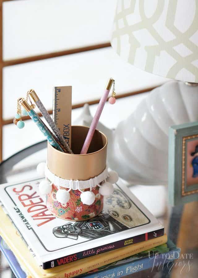 The Global styler Japanese pencil holder diy